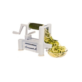 D.Line Spiral Vegetable Slicer with 3 Blades