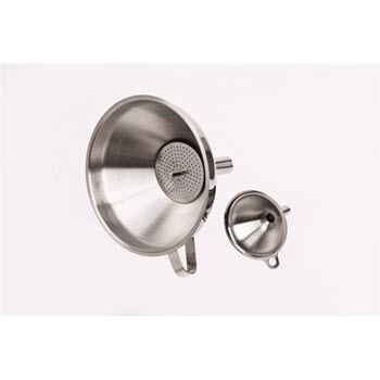 D.Line Funnel with Strainer Stainless Steel