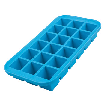 Appetito 18 Cube Blue Silicone Ice Tray