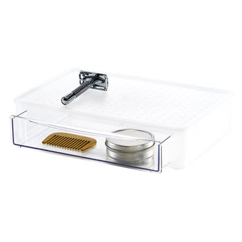 Madesmart Stackable Drawer Frosted