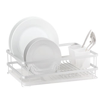 D.Line Aluminium Dish Rack With Draining Board