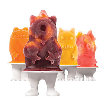 Tovolo Monster Set of 4 Pop Moulds