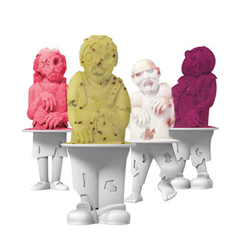 Tovolo Zombie Set of 4 Pop Moulds