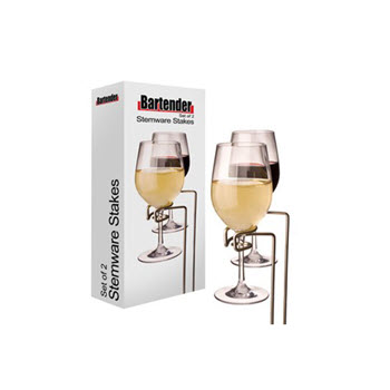 Bartender Set of 2 Picnic Stemware