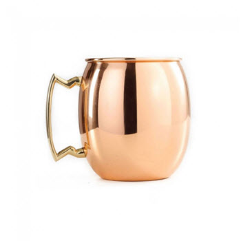 D.Line Bartender Moscow Mule Mug Copper Plated 550ml
