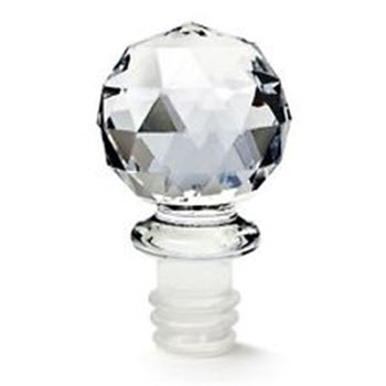 D.Line Crystal Wine Bottle Stopper