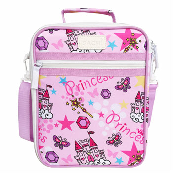 Sachi Insulated Kids Princess Lunch Tote