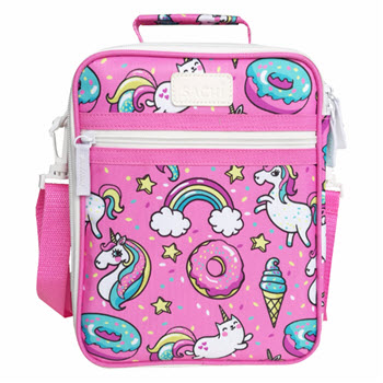 Sachi Insulated Kids Unicorn Lunch Tote