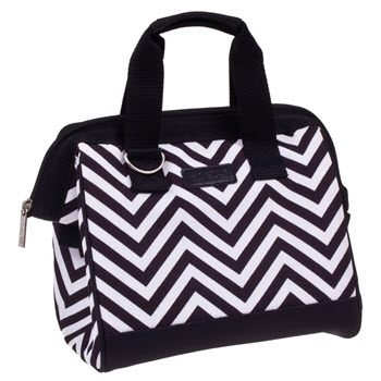 Sachi Insulated Lunch Bag Chevron Stripe