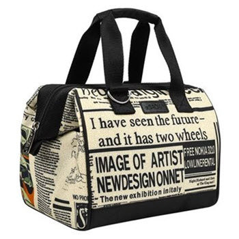 Sachi Insulated Newspaper Lunch Bag