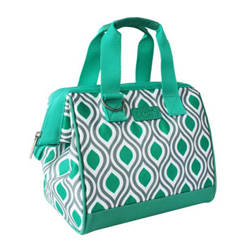 Sachi Insulated Peacock Jade Lunch Bag