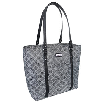 Sachi Insulated Two Tote Bag Silver