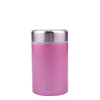 D.Line Oasis 450ml Food Flask Stainless Steel Blush