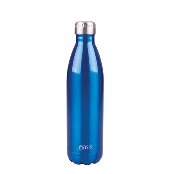 Oasis Insulated Stainless Steel Water Bottle 750ml Aqua