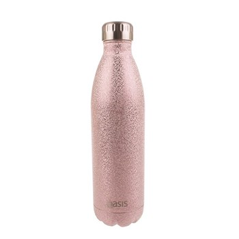 Oasis Insulated Water Bottle 750ml Shimmer Blush