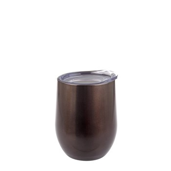 Oasis Double-Walled Wine Tumbler 330ml Smoke
