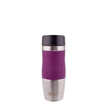 Oasis Café Insulated Travel Cup 380ml Plum