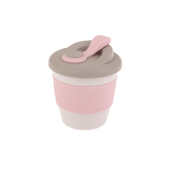 Oasis Eco-Cup Biodegradable Pink 227ml