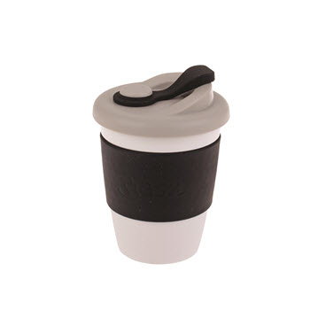 Oasis Eco-Cup Biodegradable Black 340ml