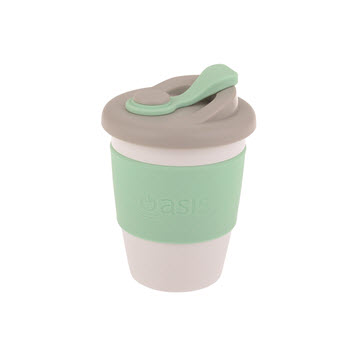 Oasis Eco-Cup Biodegradable Travel Mug 340ml Spearmint