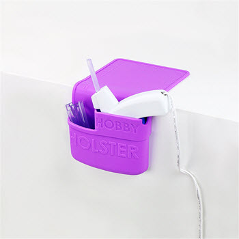 Holster Silicone Hobby Holder for Crafts Lilac