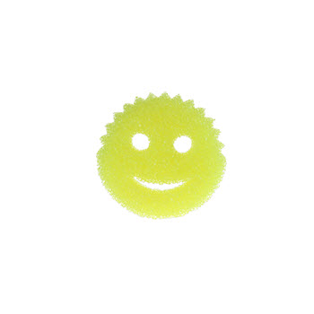 Scrub Daddy 2 in 1 Versatile Cleaning Sponge Yellow