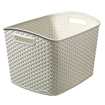 Curver My Style Rattan XL Box Cream