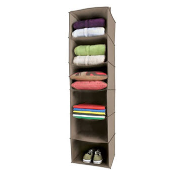 Evolve Lifewares 6 Shelf Wardrobe Organiser