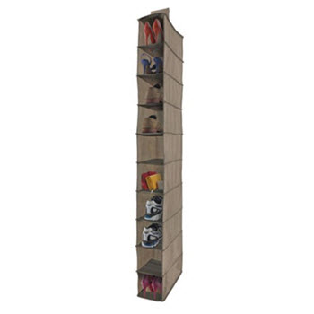 Evolve Lifewares 10 Shelf Wardrobe Organiser
