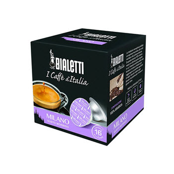 Bialetti Milano Coffee Capsules Pack of 16
