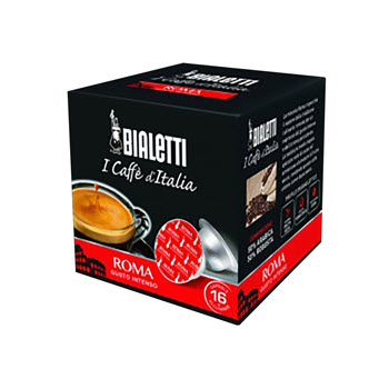 Bialetti Roma Coffee Capsules Pack of 16