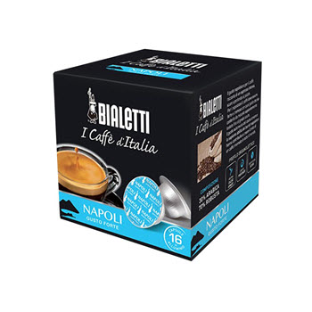 Bialetti Napoli Coffee Capsules Pack of 16