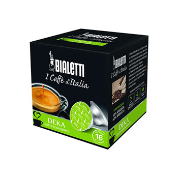 Bialetti Deka (Decaf) Coffee Capsules Pack of 16