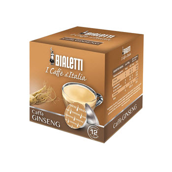 Bialetti Ginseng Coffee Capsules Pack of 16