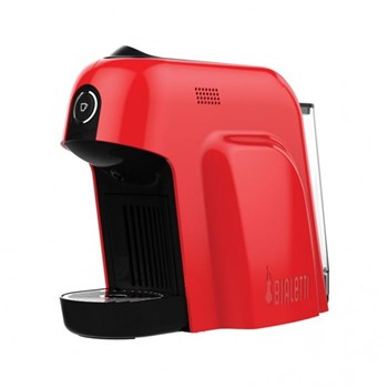 Bialetti CF65 Smart Shiny Red Pod Coffee Machine
