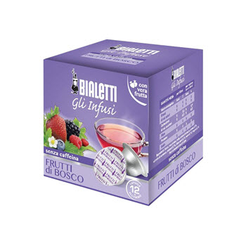 Bialetti Fruits of the Forest Tea Capsules Pack of 12