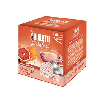 Bialetti Blood Orange Tea Capsules Pack of 12