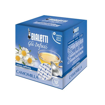 Bialetti Chamomile Tea Capsules Pack of 12