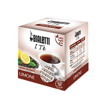 Bialetti Lemon Infused Tea Capsules Pack of 12