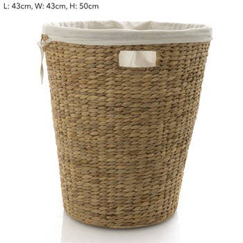 Florabelle Living Playa Natural Laundry Basket