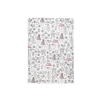 Raine & Humble Merry Christmas Recycled Cotton Tea Towel