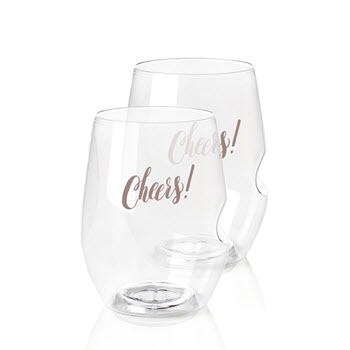 Govino Cheers Red Wine Glasses 2 Pack