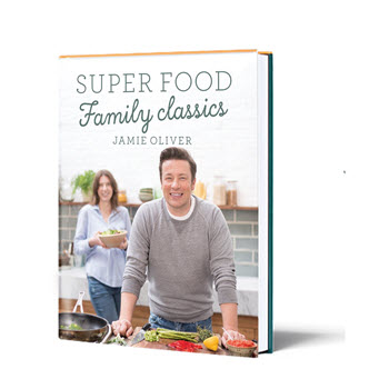 Jamie Oliver Super Food Family Classics Recipe Book
