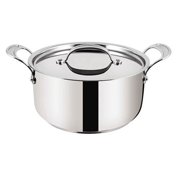 Tefal Jamie Oliver Professional Series Stainless Steel Stewpot with Lid 24cm Silver