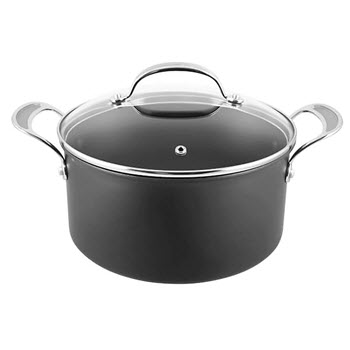 Tefal Jamie Oliver Premium Non-Stick Hard Anodised Stewpot 24cm