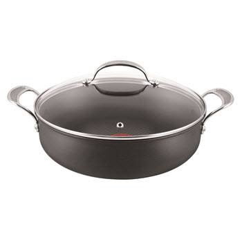 Jamie Oliver by Tefal Premium Hard Anodised Shallow Pan 30cm