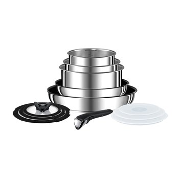 Tefal Ingenio Stainless Steel 13 Piece Cookware Set