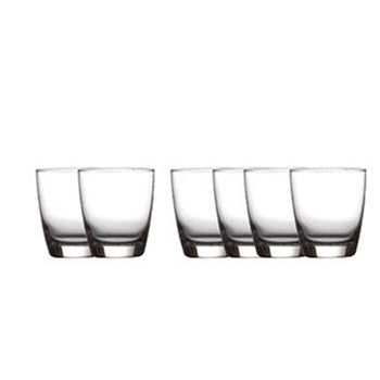 Casa Domani Salute Double Old Fashion Glass 365ml Set of 6