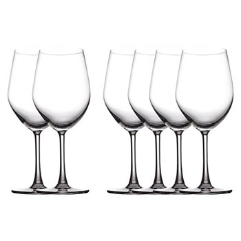 Maxwell & Williams 590ml Cosmopolitan Bordeaux Glasses Set of 6