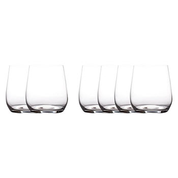 Maxwell & Williams Cosmopolitan 455ml Stemless Wine Glasses Set of 6